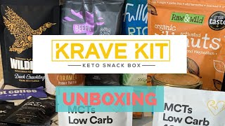 Krave Kit UK Keto Sub Box - Unboxing & Review!