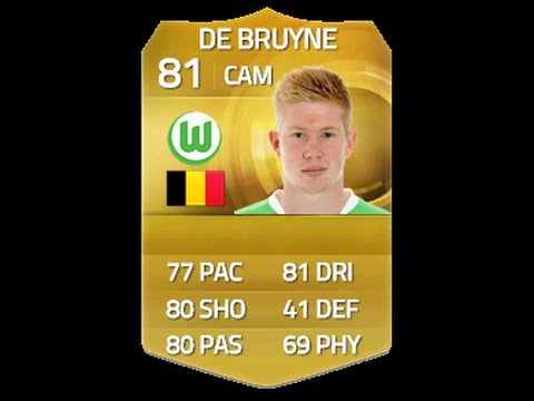 FIFA 15 Kevin De Bruyne Player Review | The Perfect CAM