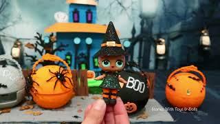 Lol Überraschung Babys Diy Halloween-Serie! Spielzeug Und Puppen Spaß Mit Benutzerdefinierten Lol K