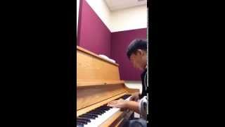 [Happy birthday with moonlight sonata  ( Bethoven version) by...] Video