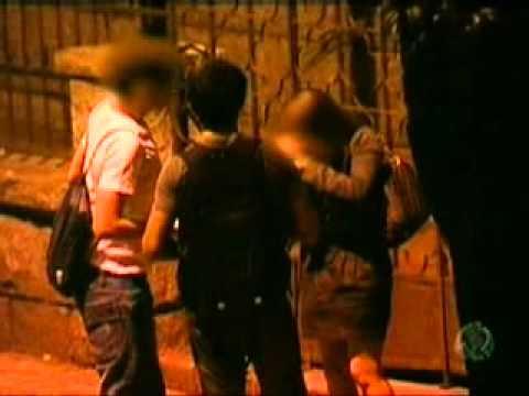Flagrante de sexo em via pública e uso de droga em Belo Horizonte.
