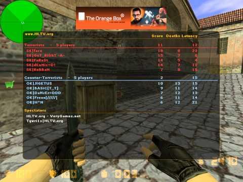 GeT_RiGhT vs. Online Kingdom @HLTV.org Xperia PLAY 2011 prelude (de_inferno)