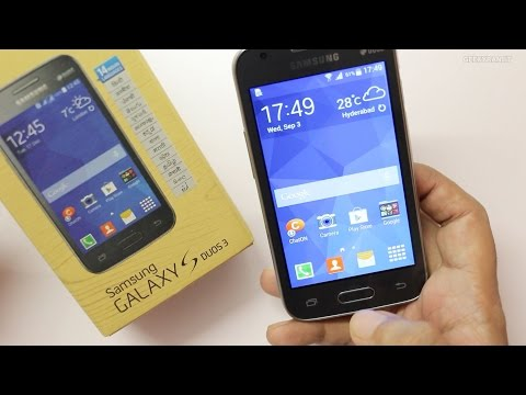 Samsung Galaxy S Duos 3 Unboxing & Hands on Overview