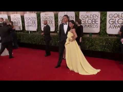 Golden globes 2015: Channing Tatum and Jenna Dewan Red Carpet
