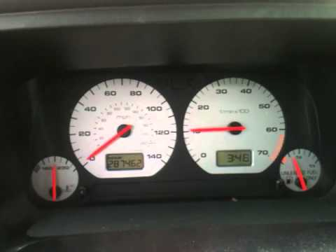 1997 VW GTI Intermittent Tachometer & Speedometer
