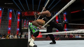 WWE Royal Rumble 2016: Roman Reigns (Champion) vs 29 Superstars (Gameplay)