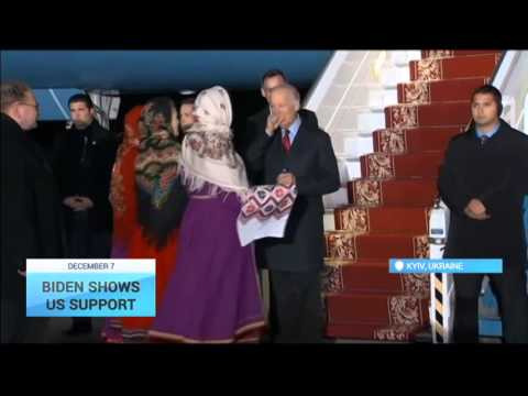 US Vice President Arrives in Kyiv: Joe Biden shows US support for Ukraine