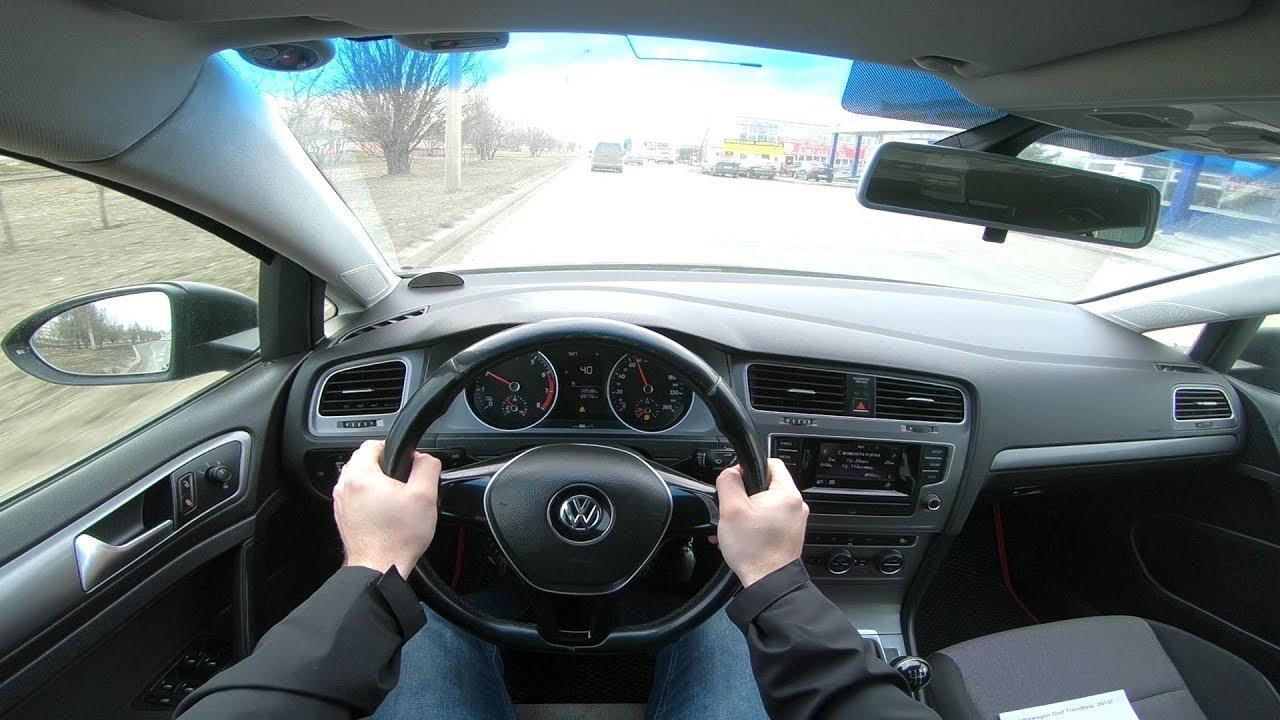 2013 Volkswagen Golf 1.2L (85) POV TEST DRIVE