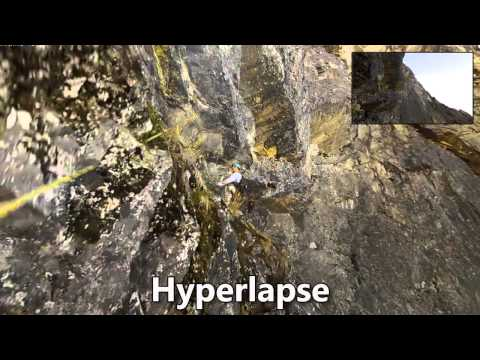 First-person Hyperlapse Videos