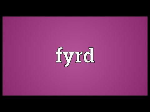 Header of Fyrd