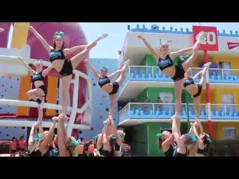 TwistTV: Inside Look - Cheer Sport Great White Sharks @ Worlds 2014
