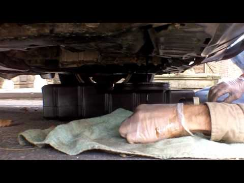 Honda CRV How to change   Auto transmission fluid and lube cable