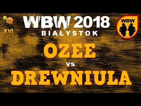 Bitwa OZEE Vs DREWNIULA # WBW 2018 Białystok (1/8) # Freestyle Battle