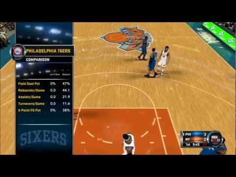 NBA 2K12 Greatest - 76ers vs Knicks [1/7]