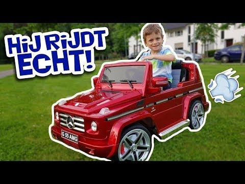 JAYDEN KRIJGT EEN ECHTE AUTO MERCEDES G55 AMG!!! - KOETLIFE VLOG #758 | Koet