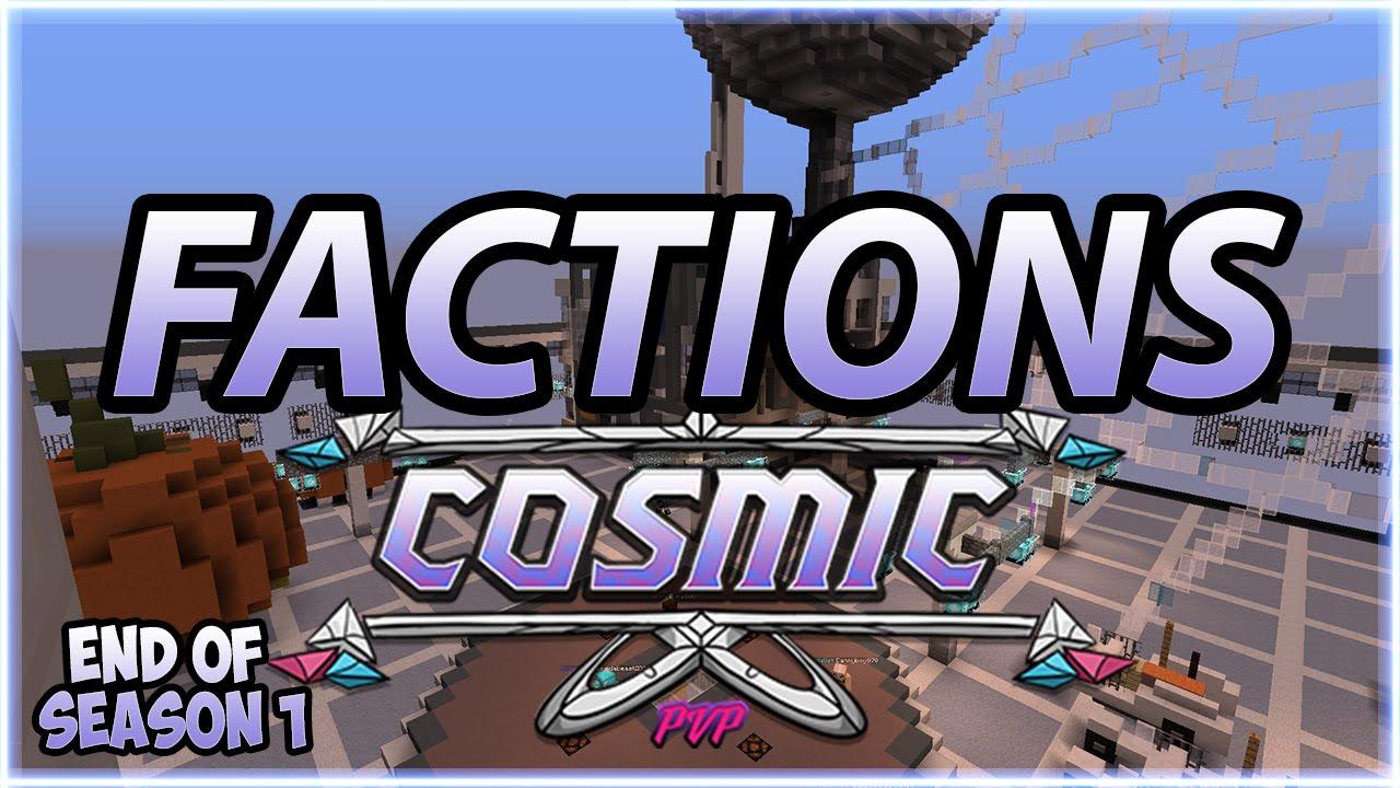 Cosmic pvp minecraft ip elhouz