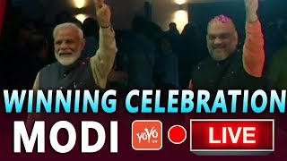 MODI LIVE | Narendra Modi Victory Celebrations in Delhi | BJP Winning Celebrations