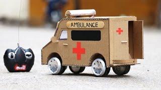 Wow! Amazing RC AMBULANCE Car DIY