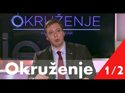 Okruzenje - Vucic i Rama ( 31.08.2015) CELA EMISIJA 1/2