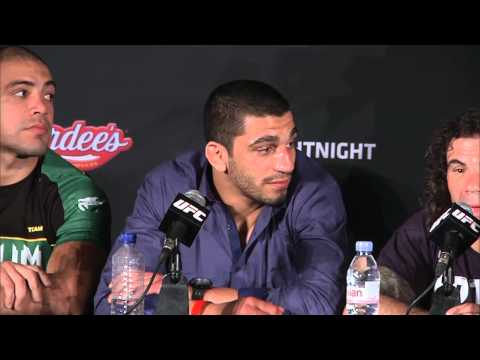 Fight Night Abu Dhabi: Post-fight Press Conference
