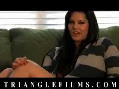 Sunny Leone On Triangle Films Set video