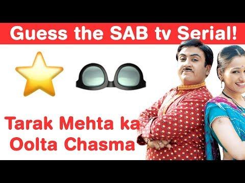 SAB tv Emoji Challenge! Guess Comedy Serials