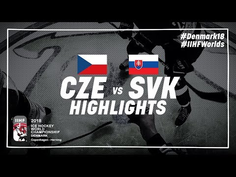 Game Highlights: Czech Republic vs Slovakia May 5 2018 | #IIHFWorlds 2018