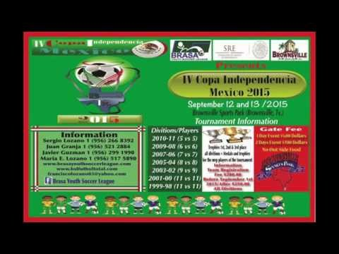 IV Copa Idependencia Mexico 2015  *Promo Radio*