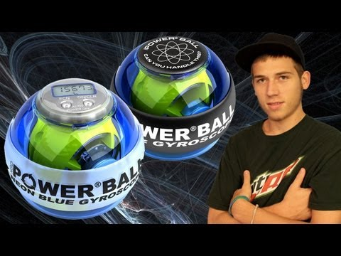 Powerball Gyroscope Exerciser at CES 2012