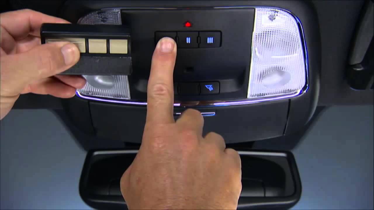 2014 Chrysler 300 Home Link Garage Door Opener Youtube