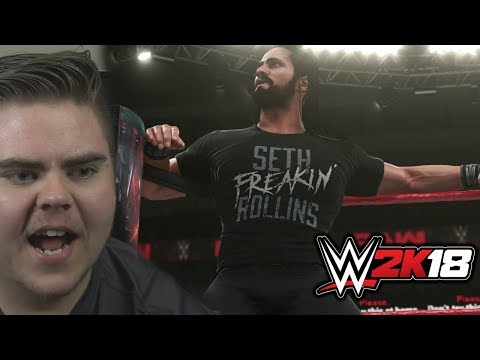 WWE 2K18 First Look + My Thoughts (Seth Rollins Screenshots Released!)