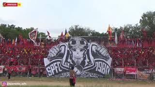 FULL KOREO SEMEN PADANG FC VS PERSITA - SEMIFINAL LIGA 2