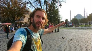 ONE DAY IN ISTANBUL | Walking to the Blue Mosque
