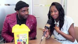 Remel London meets G FrSH. Legoman Challenge + Interview (LEGOMAN 2 OUT NOW) | Link Up TV