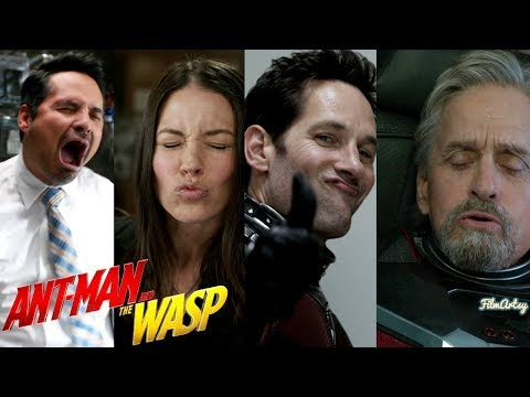 Ant-Man and The Wasp Full Bloopers and Gag Reel - 2018