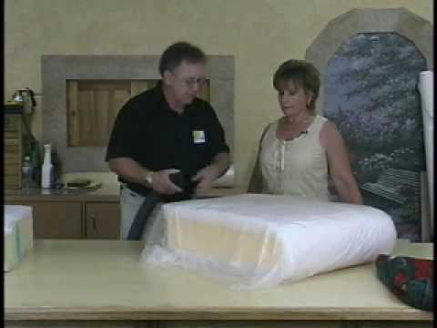 Shrinking Cushion Foam Youtube