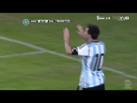 Lionel Messi Goal Argentina vs Slovenia 2-0 HD