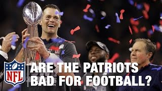 Are the Patriots Bad for Football? | NFL | Around the NFL