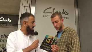 SHOCKING Conversion from Jewish Background to Islam. 'LIVE' Street Da'wah
