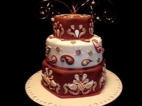 Indian Theme India Inspired Fondant Cake Youtube