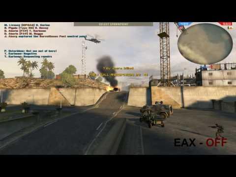 EAX - ON (OFF) Battlefield2 / CMSS3D