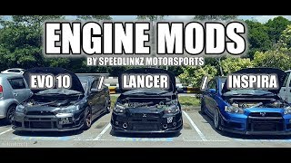 EVO 10 / LANCER / INSPIRA - ENGINE MODS by SPEEDLINKZ MOTORSPORTS