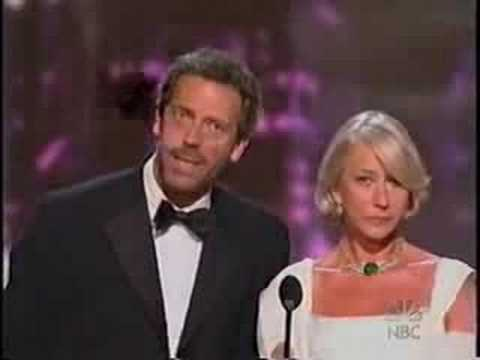Hugh Laurie doesn't speak French ??? Video