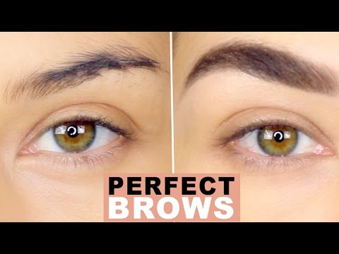How To: Perfect Natural Brows   Eyebrow Tutorial   How to Groom Eyebrows   Eman