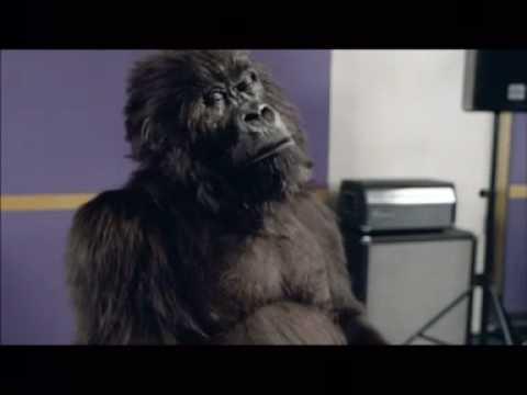 Drumming Gorilla ad