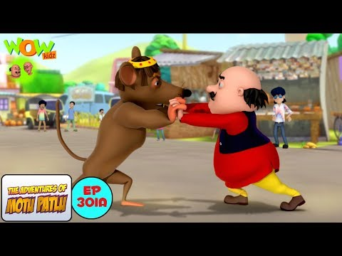Rat Attack | Motu Patlu in Hindi | 3D Animation Cartoon | As on Nickelodeon thumbnail