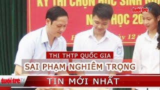 Phó trưởng Phòng Khảo thí Hà Giang là người can thiệp điểm thi