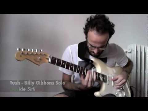 Davide Sittinieri - Tush (Billy Gibbons Guitar Solo)