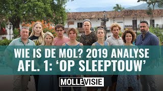 Analyse van Wie Is De Mol? 2019 aflevering 1