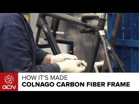 Colnago - How A Colnago Carbon Fiber Frame Is Made